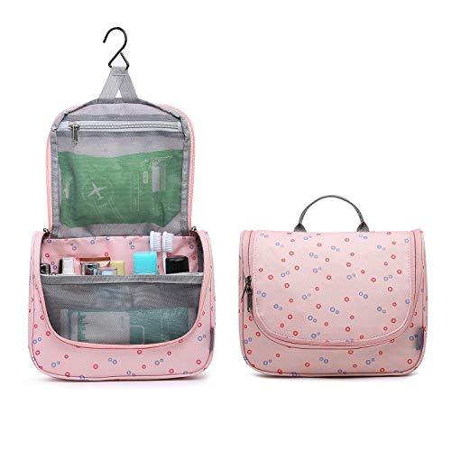 Mountaintop Kulturbeutel Kosmetiktasche Kulturtasche zum Aufhängen Toiletry Bag Waschtasche für Reise Urlaub, 24 x 9 x 19 cm (B - Medium Magenta (L)) - 1 X Magenta-paket