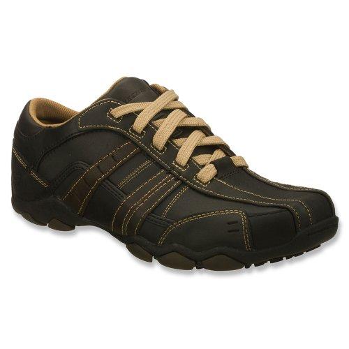 Skechers Diameter Vassell, Chaussures de ville homme Schwarz BKTN Excellent