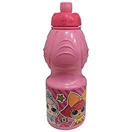 BORRACCIA LOL SURPRISE Sport in Plastica con Beccuccio – Rosa Ml. 400 –