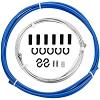 KKJLXX Conjuntos de MTB/Bici del Camino del Cable del Freno con el Cable de Bicicletas Vivienda 5 Colores (Color : Sky Blue)