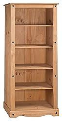 Mercers Furniture Corona Tall Large Bookcase
