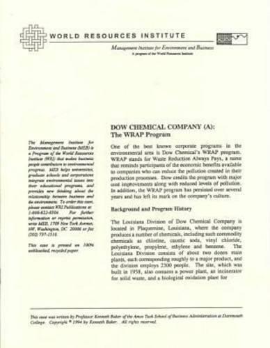 dow-chemical-company-a-the-wrap-program