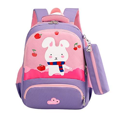 Innerternet Kinderrucksack Bunny Babyrucksack Schule Tasche Rucksack for Kinder Baby Jungen Mädchen Kleinkind,Karikatur Drucken Schultasche Rucksäcke Daypack Verschleißfest Tasche Große Backpack Sale