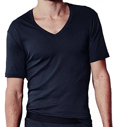 Zimmerli Sea Island Shirt VN SS 2861391 Navy
