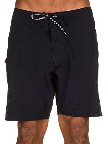 Volcom Lido Solid Mod 18 - Costume da bagno da uomo, UOMO, nero, 31