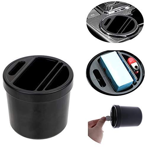 Tidying Goods Cigarette Shelves Coin Finishing Car Organizer Box Auto Storage Case Phone Holder Water Cup Rack (Cup Holder Car Organizer)