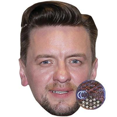 Preisvergleich Produktbild Celebrity Cutouts Ben Zucker Maske aus Karton