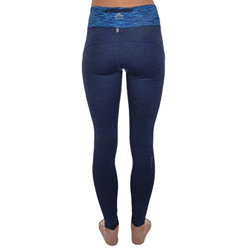 Slazenger - Damen Laufhose/Fitness-Leggings - dunkelblau/schwarz Marineblau