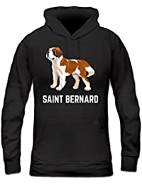 Saint Bernard Illustration Women's Hoodie by Shirtcity