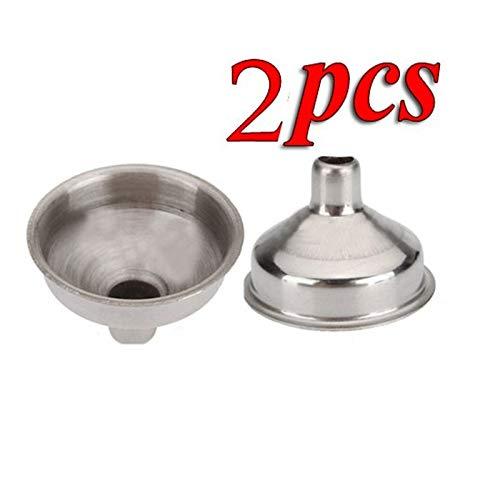 Deanyi 2PCS 8mm Edelstahl Funnel for All Kinds of Hip Flasks Wine Pot Filler by - Flask Pots