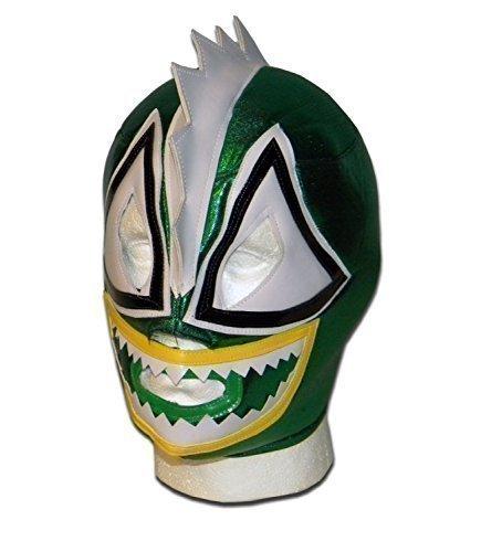 Veloso-Raptor Wrestlingmaske, Erwachsene, Lucha (Libre Dress Fancy Nacho)