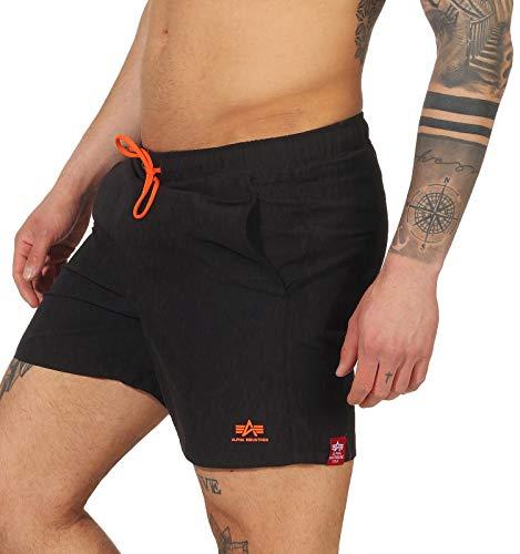 Alpha Industries Basic Swim Short schwarz (Black, XL)