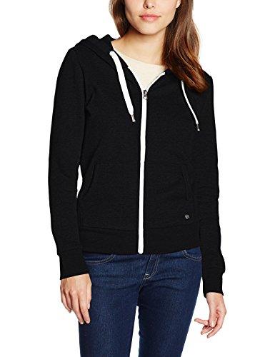 ONLY Damen Jacke Onlfinley Ls Zip Hood Noos Schwarz (Black)