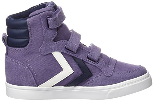 Hummel Unisex-Kinder Stadil Canvas Jr Hi High-Top Violett (Cadet 4103)