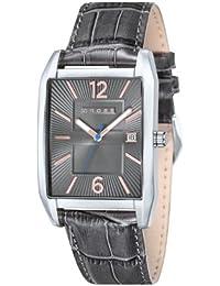 Cross CR8001-05 - Reloj analógico para hombre, correa de cuero color gris