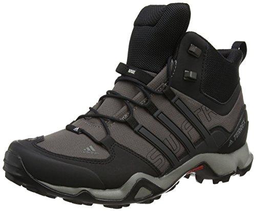 adidas Herren Terrex Swift R Mid Wanderstiefel, Grau (Granite/Core Black/ck Solid Grey), 46 2/3 EU