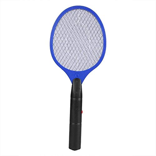 GOUPPER Electric Fly Mosquito Swatter Cordless Battery Powered Bug Zapper Racket Fly Insects Killer(Green)