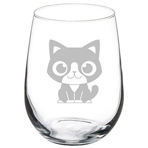Verre de vin Goblet Chat mignon (311,8 gram sans pied)