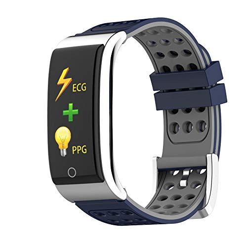 ANSKT Herzfrequenzmesser Smart Armband EKG PPG Blutdruckmessung weibliche Fitness-Tracker Armband wasserdicht