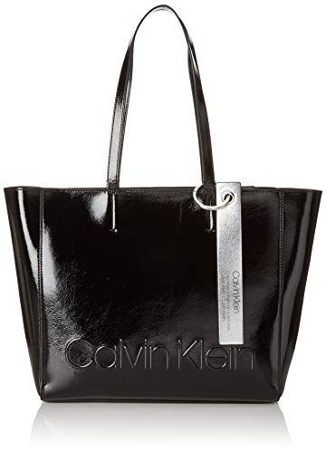 Calvin Klein Damen Edged Shopper S Tote -