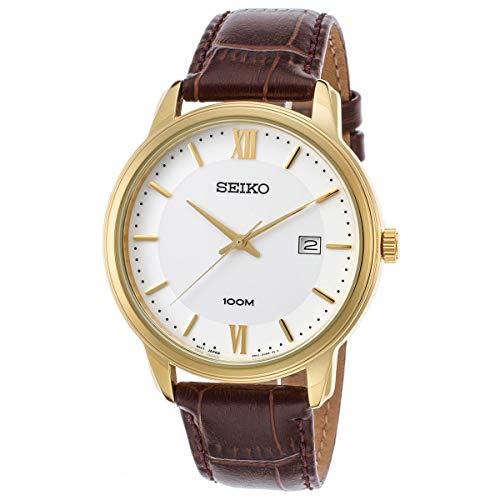 Quarz Uhr mit Leder Armband SUR266P1 ()