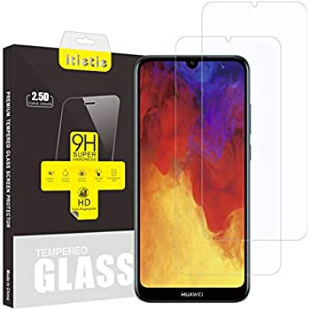 ANEWSIR for Huawei Y6 2019 screen protector, 【3 Pack】[Bubble-Free