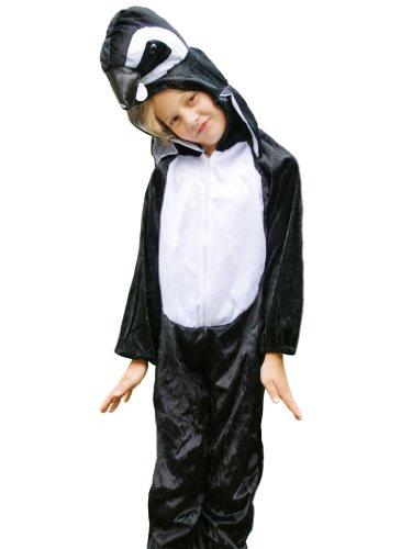 Ikumaal Pinguin-Kostüm, AN31 Gr. 2-4 Jahre, für Klein-Kinder, Babies, Pinguin-Kostüme Pinguine Kinder-Kostüme Fasching Karneval, Kinder-Karnevalskostüme, Kinder-Faschingskostüme, Geburtstags-Geschenk