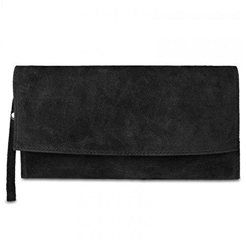 CASPAR Fashion, Poschette giorno donna Nero (nero)