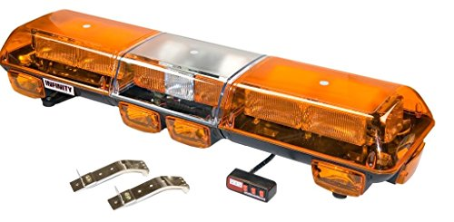 Wolo 7500-A Automotive-Emergency-Strobe-Light-Assemblies Strobe Light Amber Lens