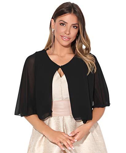 Capa Vestir Mujer Fiesta Elegante Vestido Novia Señora