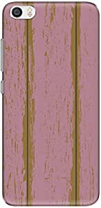 The Racoon Grip printed designer hard back mobile phone case cover for Xiaomi Mi 5. (Pink Woode)