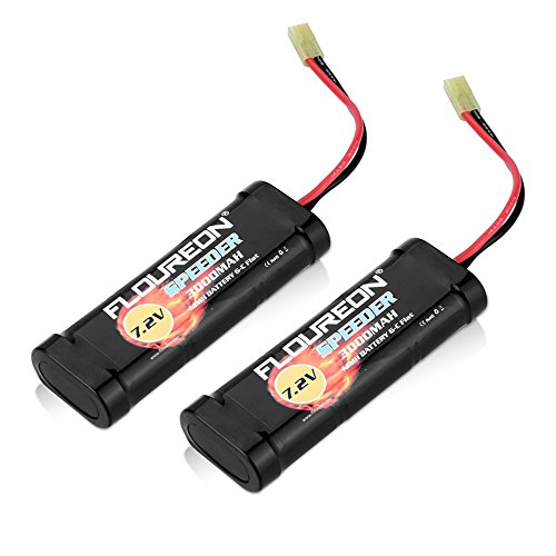 floureonr-2-packs-72v-3000mah-nimh-high-capacity-battery-pack-with-tamiya-plug-for-popular-standard-