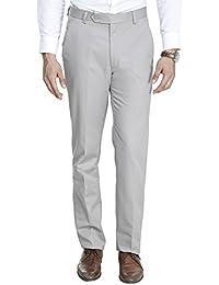 ManQ Men's Slim Fit Party/Formal Trousers - 10 Colors