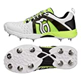 #8: Kookaburra Kcs 2000 Spike Cricket Shoes Size 10 UK (Fluo/Yellow)