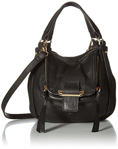 Kooba Handbags Damen Mini Jonnie schwarz (Gold-Hardware), Black, Einheitsgröße -