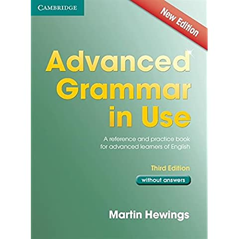 Advanced Grammar in Use 3rd Edition Book without Answers