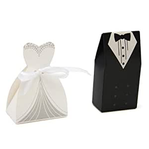 100 tuxedo kleid bridal candy chocolate geschenkbox mit geschenkanh nger f r hochzeit party. Black Bedroom Furniture Sets. Home Design Ideas
