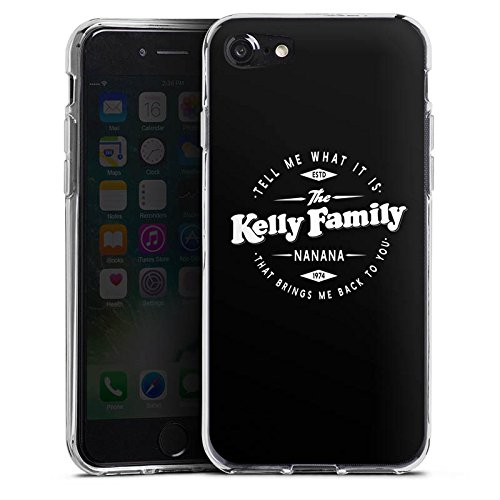 Apple iPhone 6 Silikon Hülle Case Schutzhülle The Kelly Family Nanana Merchandise Fanartikel Silikon Case transparent