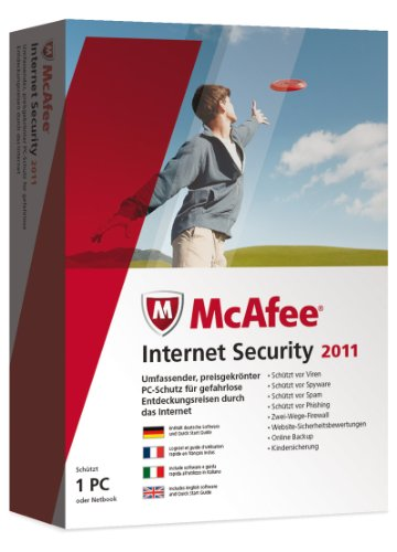 McAfee Internet Security 2011 - 1 User