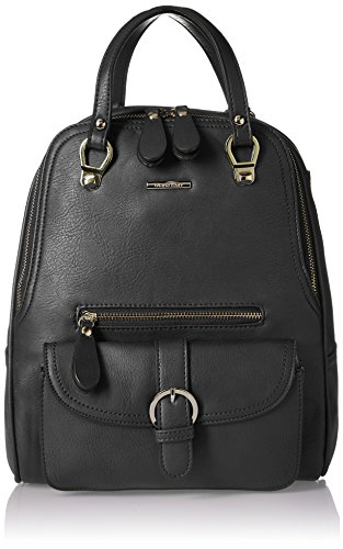 Diana Korr Women\'s Messenger Bag (Black)(DK33HBLK)