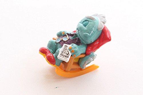 Unbekannt Figur Überraschungsei Ü-Ei Dino Drache Opa im Schaukelstuhl Ferrero