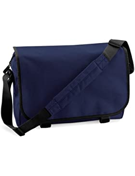 Moderne Schultertasche , Farbe:French Navy French Navy