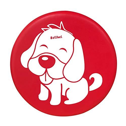 LCTCQ Kind Weicher Frisbee Sicherheit Sport Eltern-Kind Im Freien Spiel Junge Mädchen Spielzeug Hund Cat Fisch Elefant Schmetterling Neun Farben,Dog
