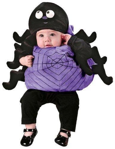 Costume travestimento Halloween per neonati motivo ragno