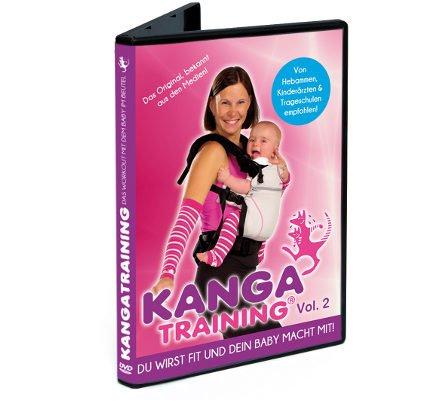 Preisvergleich Produktbild DVD Kangatraining Vol. 2 - Kanga Fitnessvideo für Eltern mit Baby in Babytrage