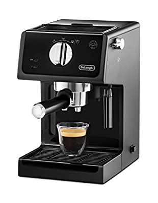 DeLonghi ECP31.21 Italian Traditional Espresso Coffee Maker, Black (Certified Refurbished) by DeLonghi