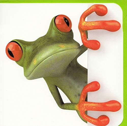"Fotokarte Frosch""Na?"""