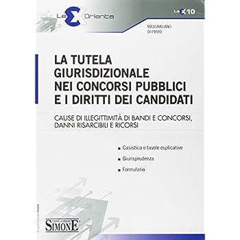 La Tutela Giurisdizionale Nei Concorsi Pubblici E I Diritti Dei Candidati