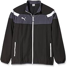 PUMA para hombre Chaqueta Spirit II Woven Jacket, Colour negro - Blanco, L, 654661 03