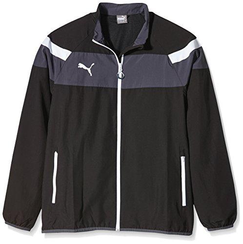 Puma Cat Woven Jacket (PUMA Herren Jacke Spirit II Woven Jacket, black-white, XL, 654661 03)